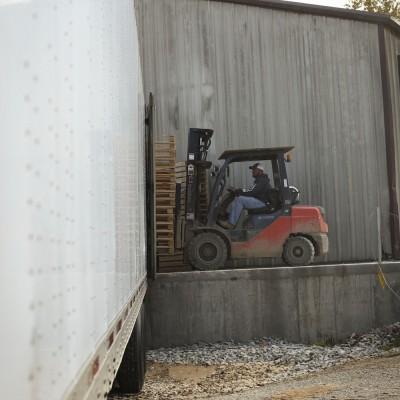 On-site Van Loading Dock
